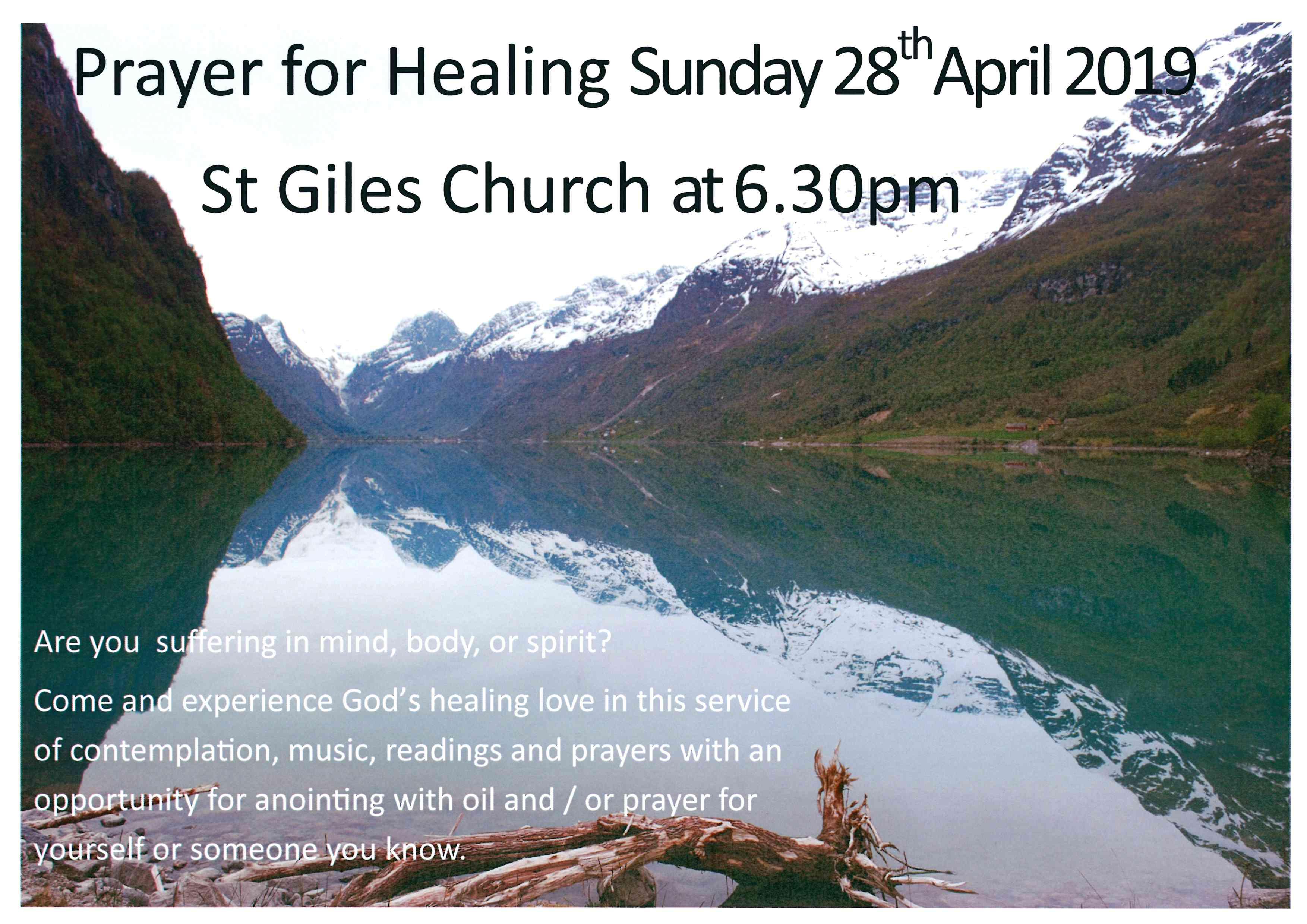 Service of Prayer | St Giles' Church Ickenham